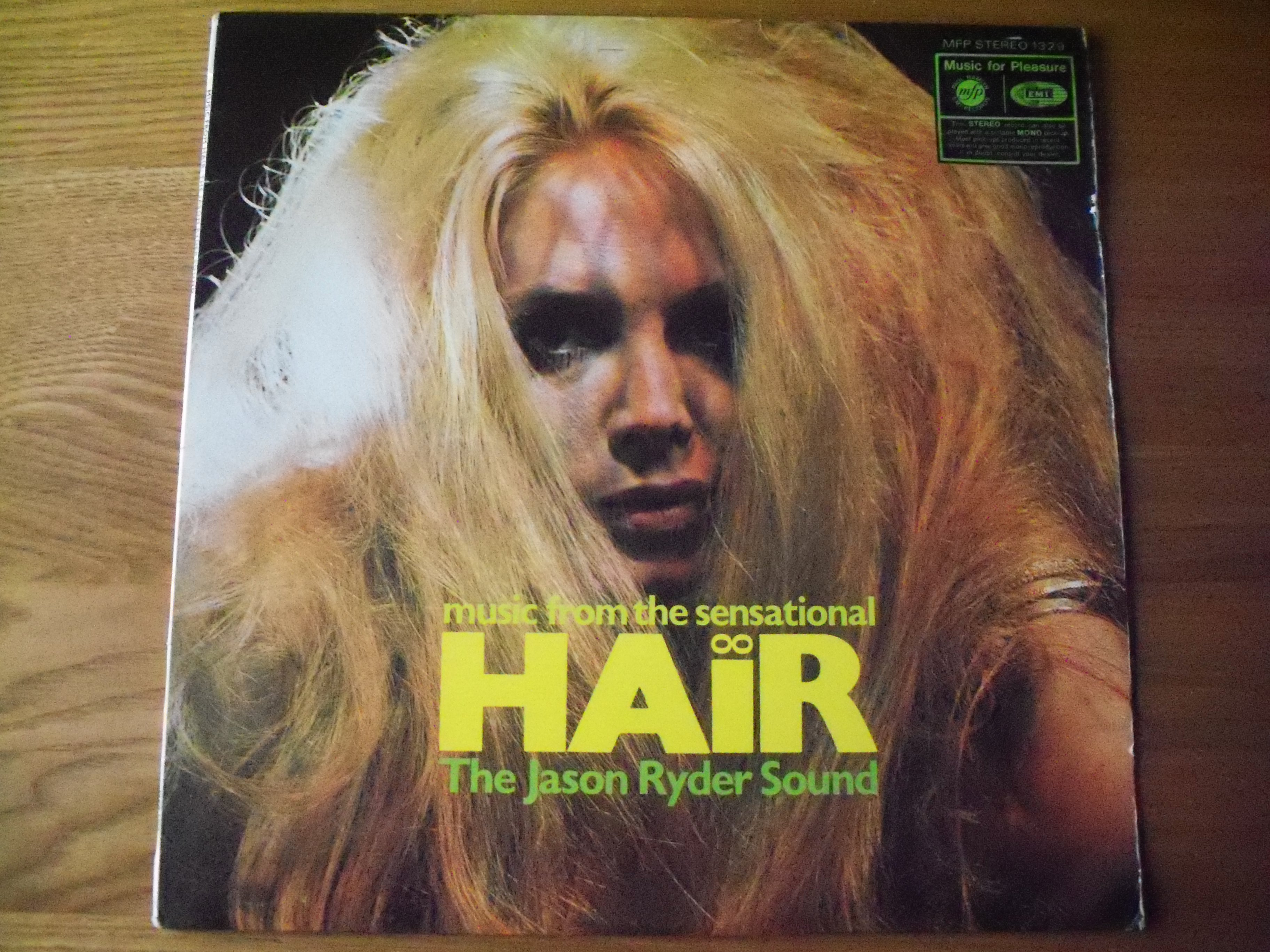LP 288: The Jason Ryder Sound – Music from Hair (Music for